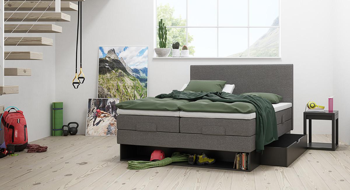 Wonderland 342 regulerbar seng