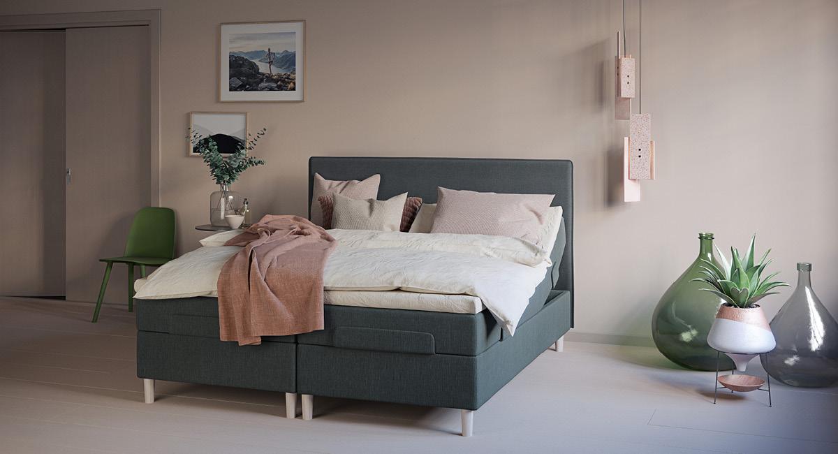 Wonderland 412 regulerbar seng