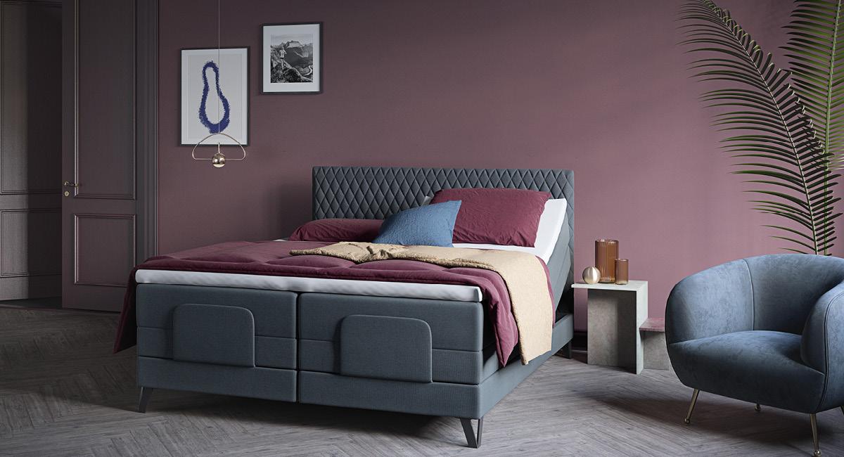 Wonderland 532 / 733 regulerbar seng