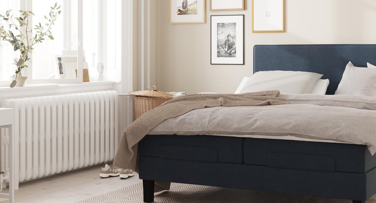 Wonderland Piano 342 Regulerbar seng